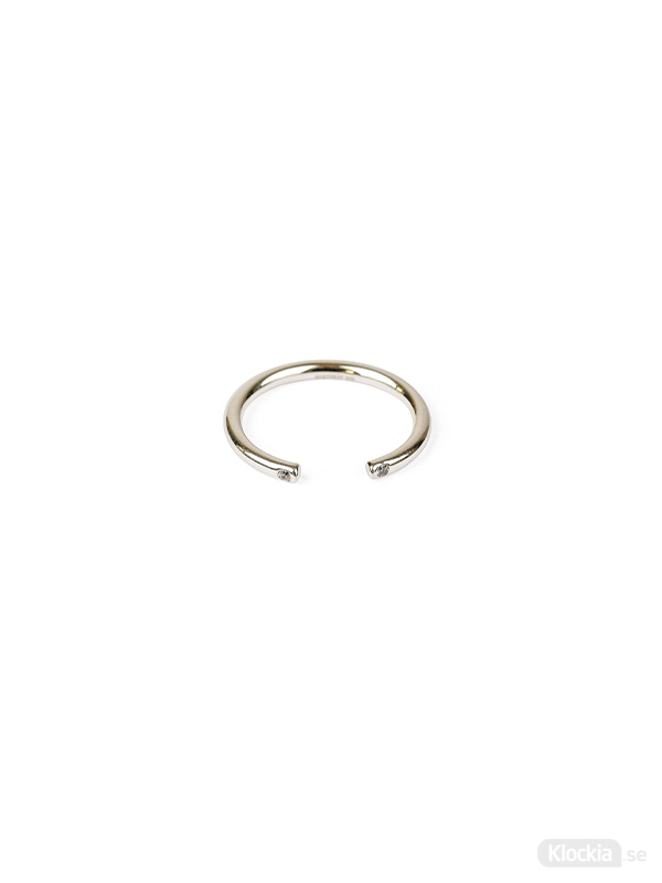 Syster P Ring Tiny Open Sparkle - Silver RS1170