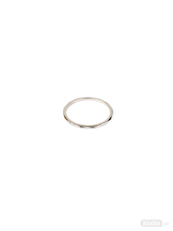 Syster P Ring Tiny Ultrathin - Silver 16.5mm RS1171-6