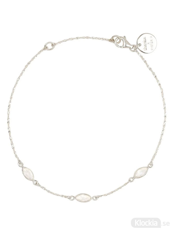 Syster P Armband Therese Shine Moonstone Silver One Size BS1252