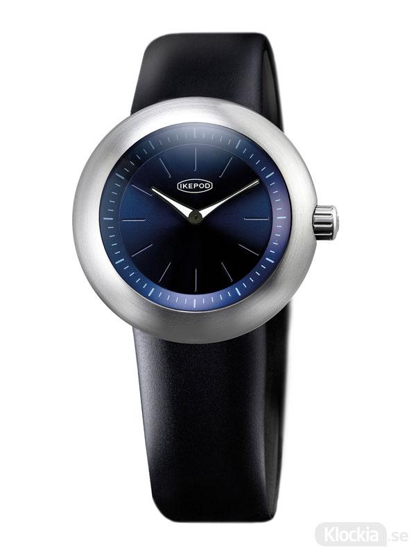 IKEPOD Duopod Midnight Blue 008 D008-SI-LB Herrklocka