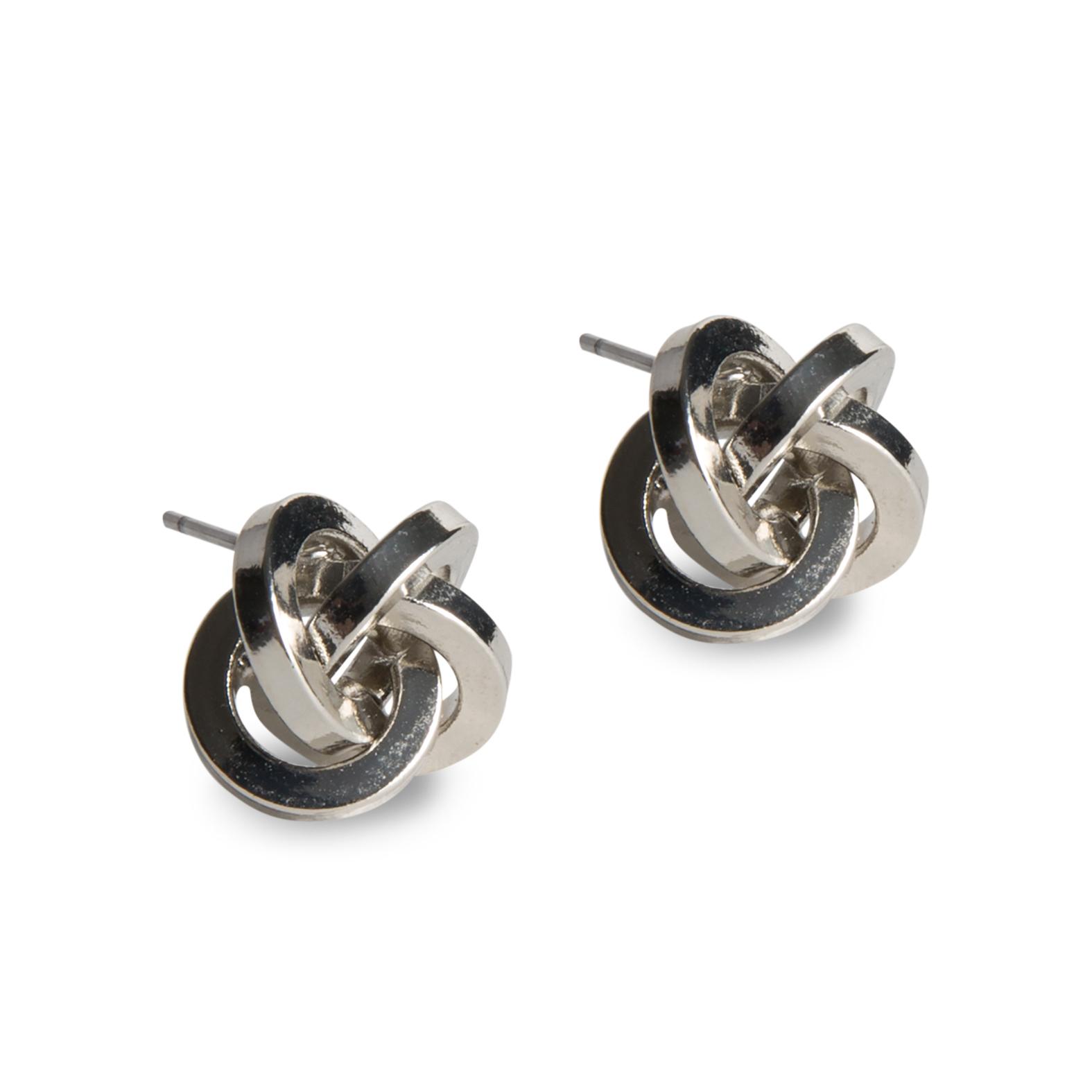 Damsmycke pfg Stockholm Pearls for Girls-Knot Earring 96229-02