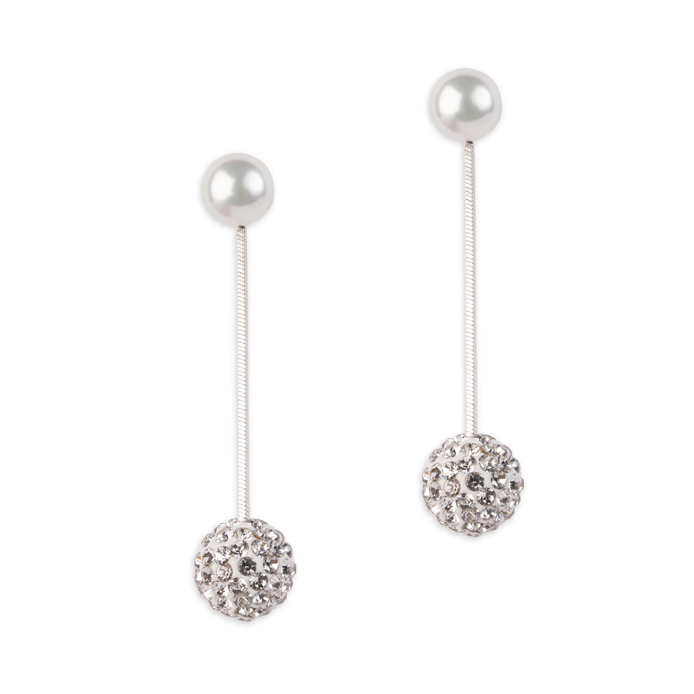 Damsmycke pfg Stockholm Pearls for Girls-Dizzie Earring 96270-02
