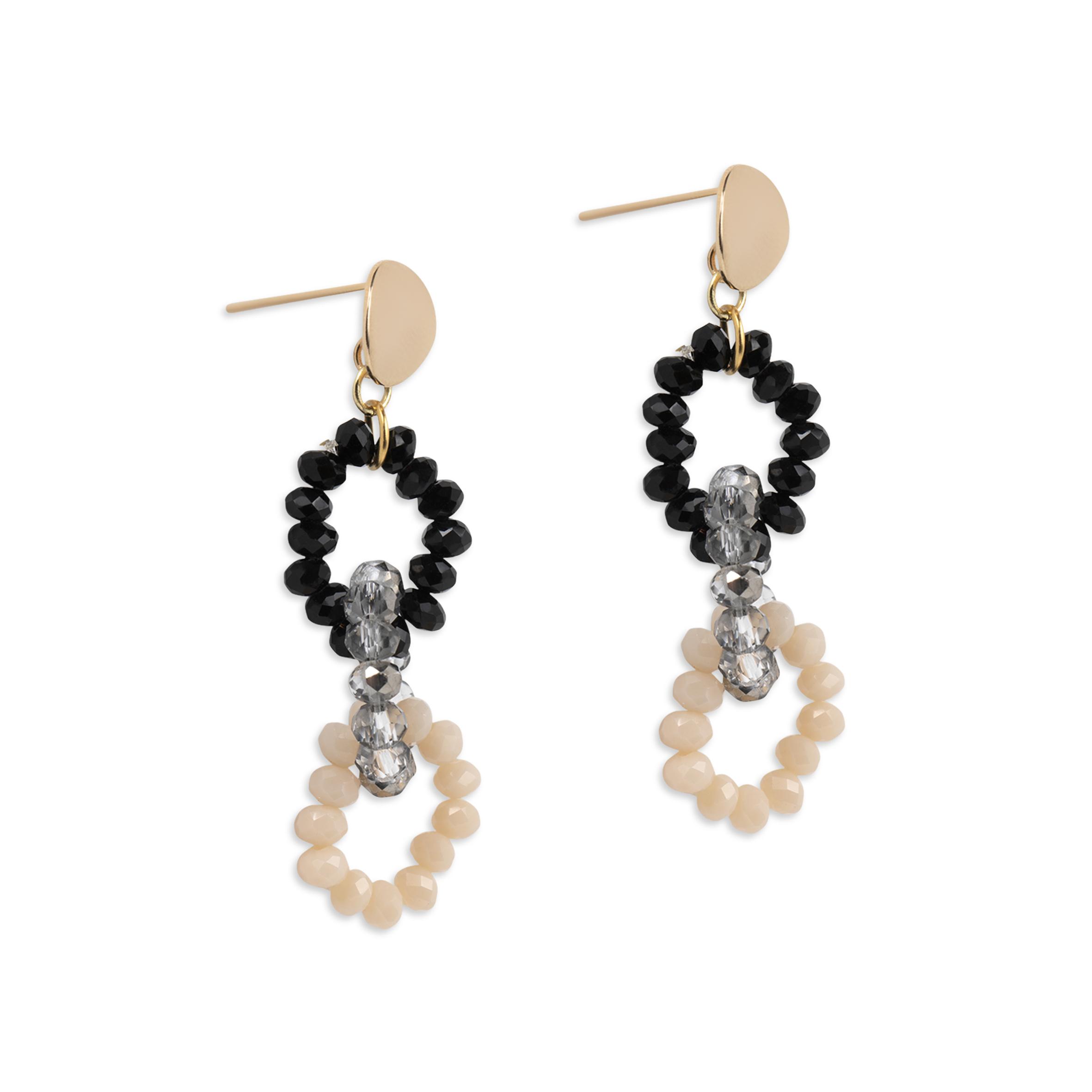 Damsmycke pfg Stockholm Pearls for Girls-Happy Chain Earring 96312-12