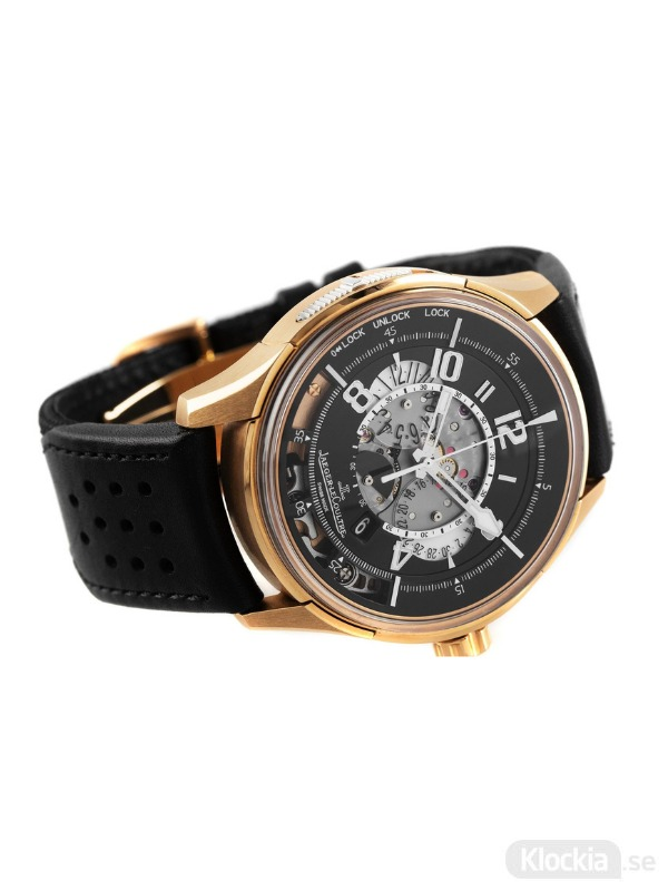 Begagnad JAEGER LECOULTRE CHRONOGRAPH 18c GOLD ASTON MARTIN LIMITED EDITION 2001279