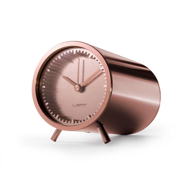 Leff Amsterdam Tube Clock Copper LT70003