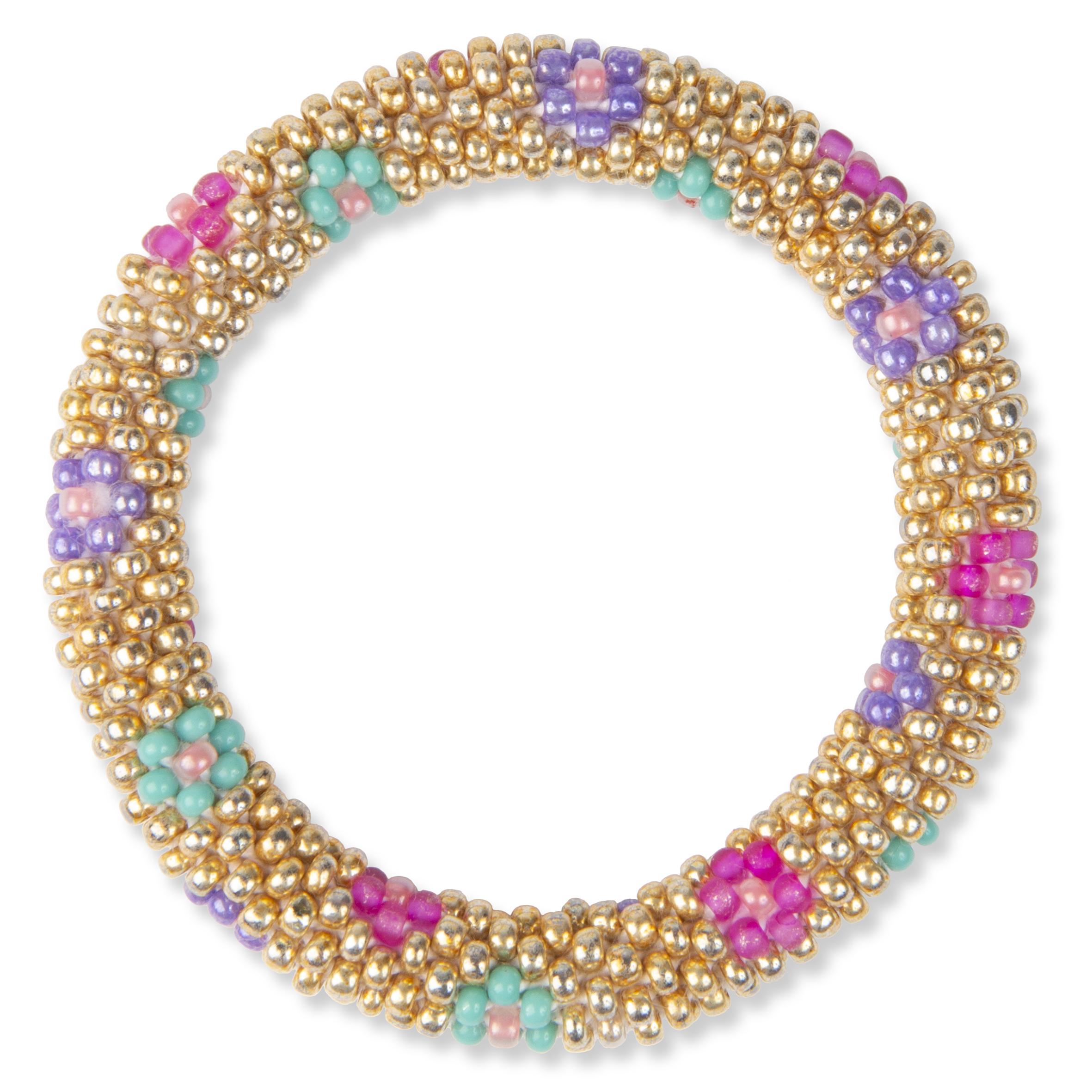 Barnsmycke pfg Stockholm Pearls Kids-Crochet Bracelet 11005-07