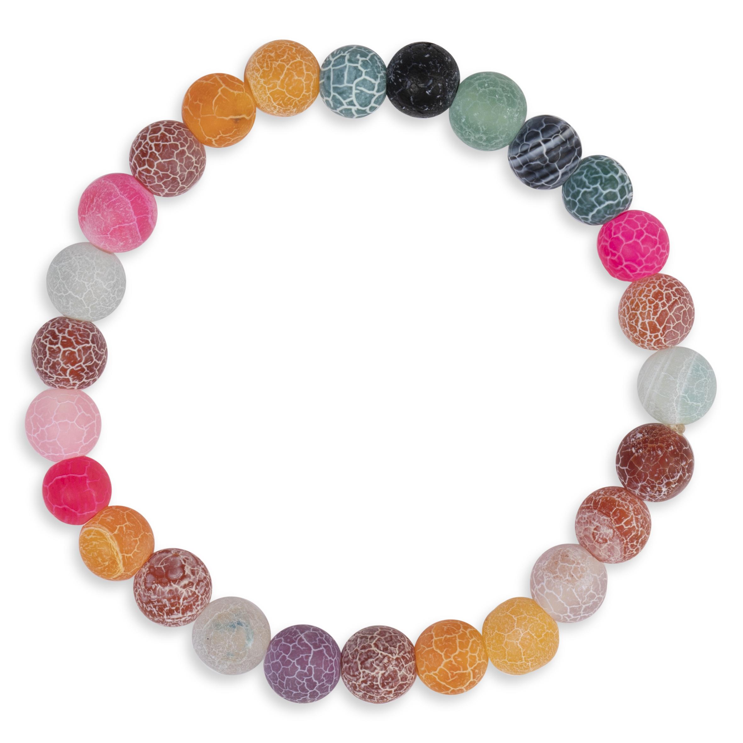 Barnsmycke pfg Stockholm Pearls Kids-Colorfull Agathe Bracelet 11010-12