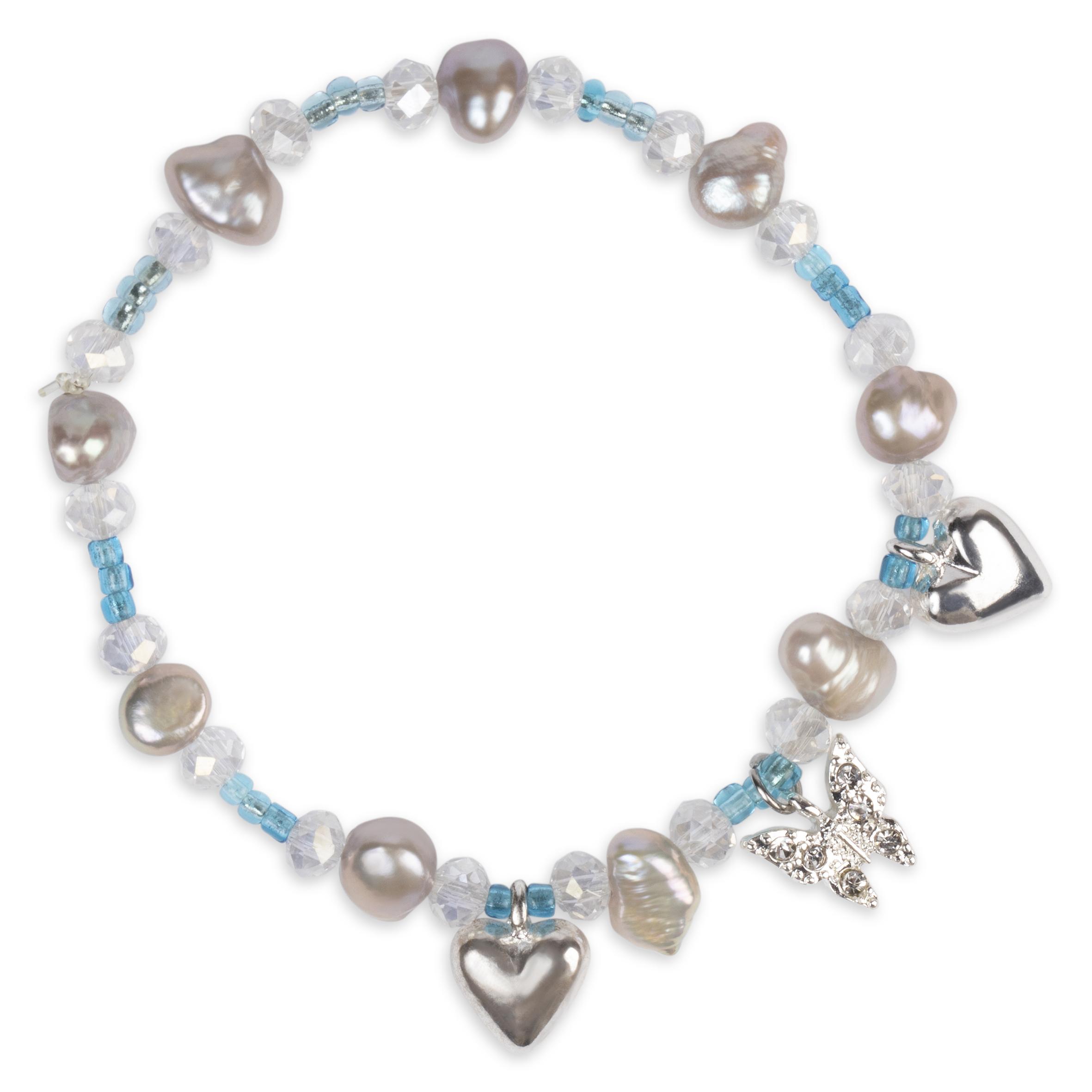 Barnsmycke pfg Stockholm Pearls Kids-Kelly Bracelet 11011-12