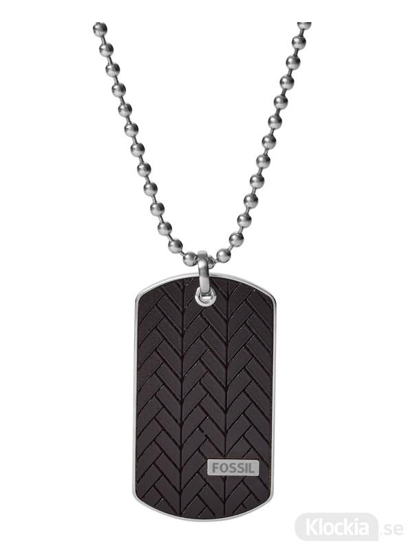 så billigt köp på nätet billiga priser Herrsmycke FOSSIL Halsband Classics JF03395040