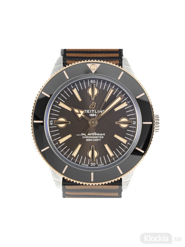 Begagnad Breitling SuperOcean Heritage 57 Outerknown 18c Gold/Steel Limited Edition