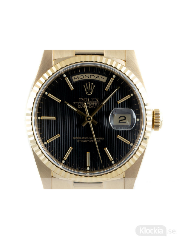 Begagnad Rolex Day-Date 36 18c Gold Oyster Perpetual 18238
