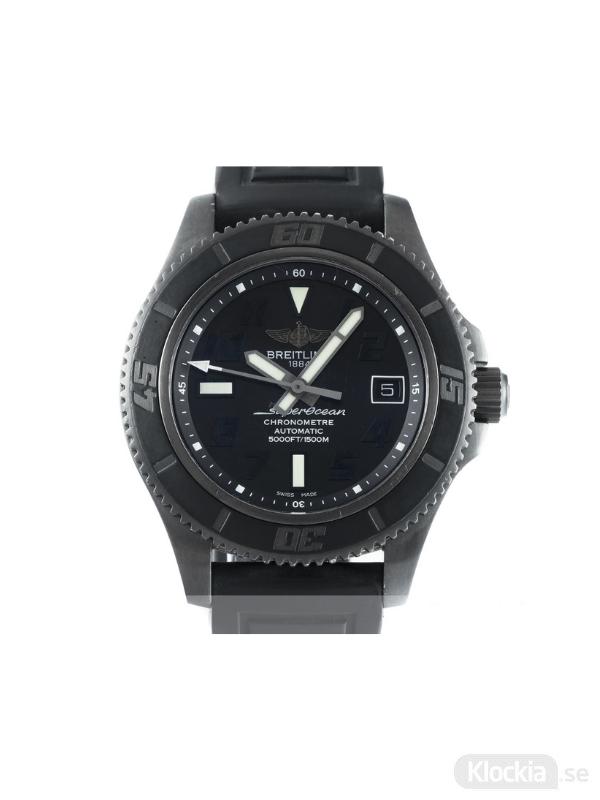 Begagnad Breitling SuperOcean II Blacksteel Abyss 42 Limited Edition M17364