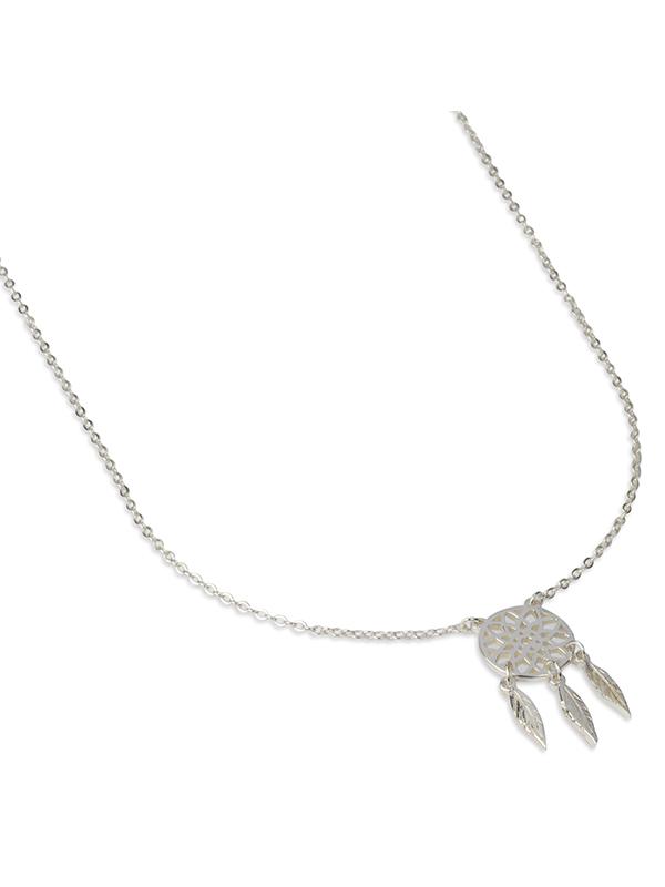 Damsmycke pfg Stockholm NOIR-Dreamcatcher Necklace 50006-02