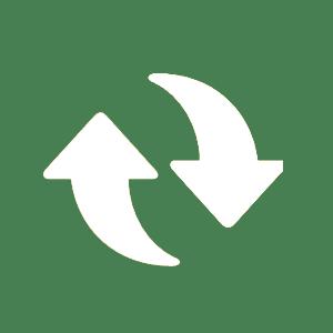 cirkel grön öppet köp